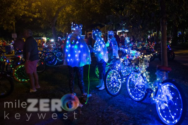 Lighted Bike Parade 19 - Mile Zero Key West